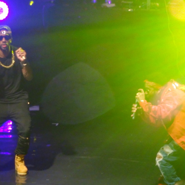 """""""Omarion live at Musicalize, Koko Club, Camden London, Mon. 16th March 2015"""" stock image"""