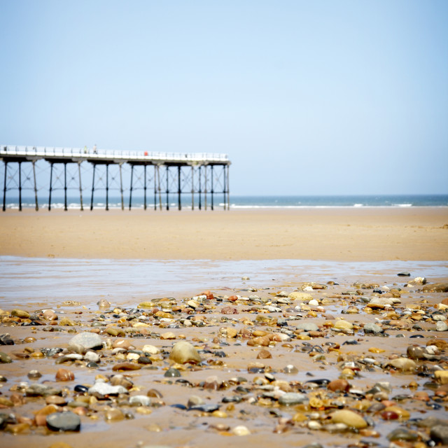 """Saltburn Pier 02"" stock image"