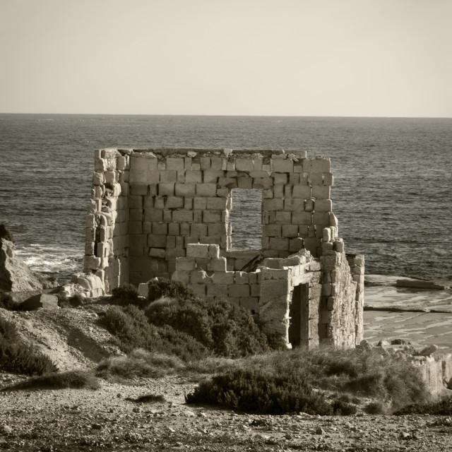 """""""Stone Hut Ruin"""" stock image"""