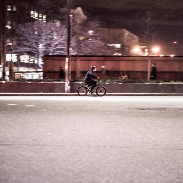 """Urban Biker"" stock image"