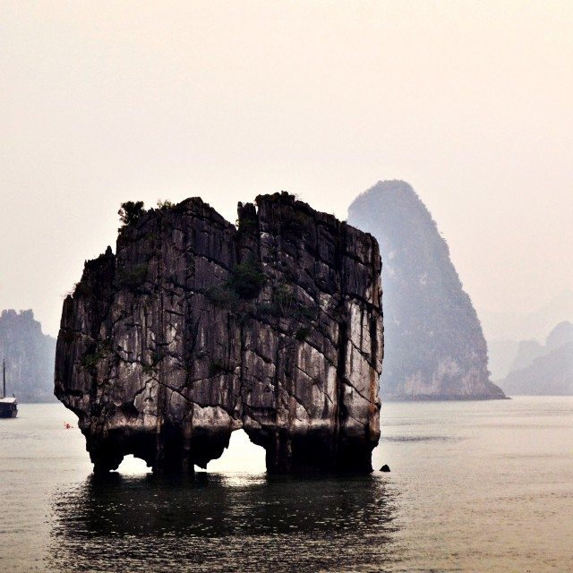 """Hạ Long Bay"" stock image"