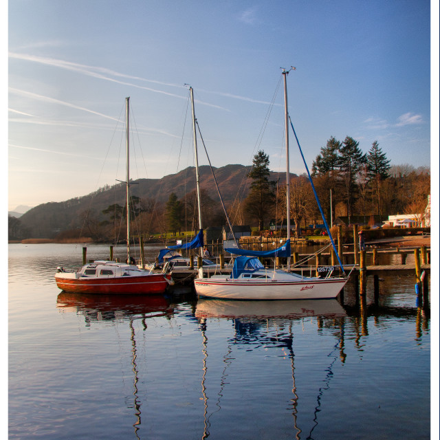 """Windermere Boats"" stock image"