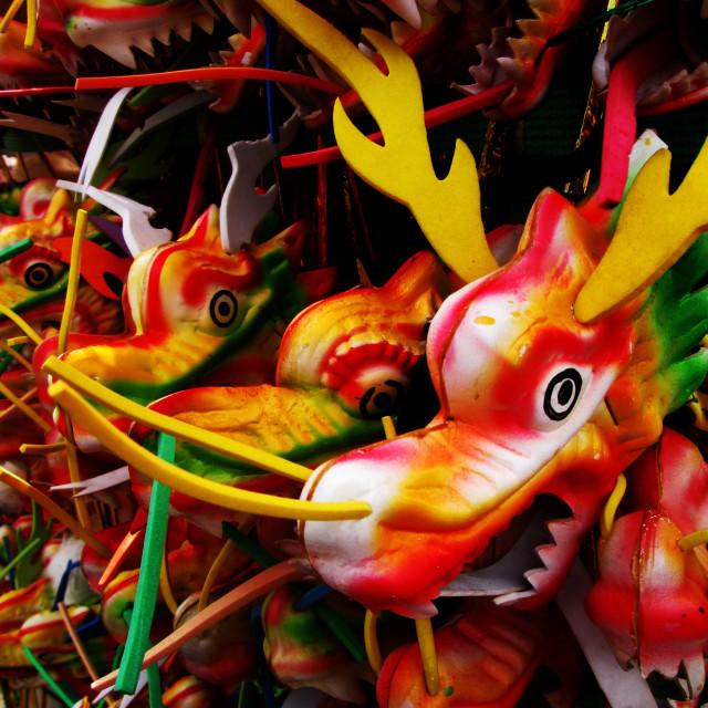 """Dragons"" stock image"