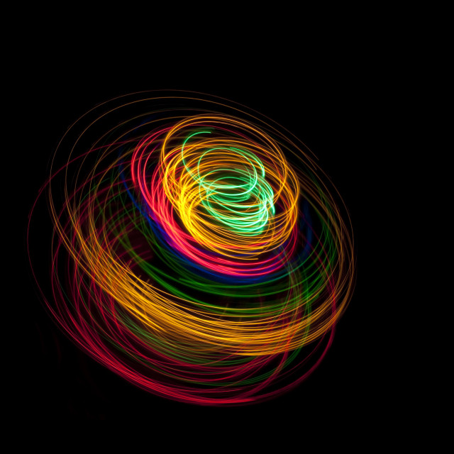 """""""three dimentional spiral"""" stock image"""