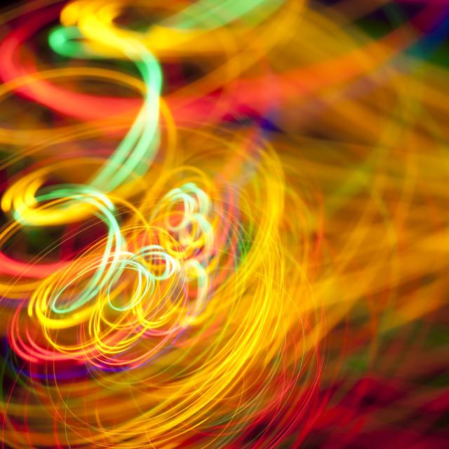 """""""spaghetti light loop"""" stock image"""