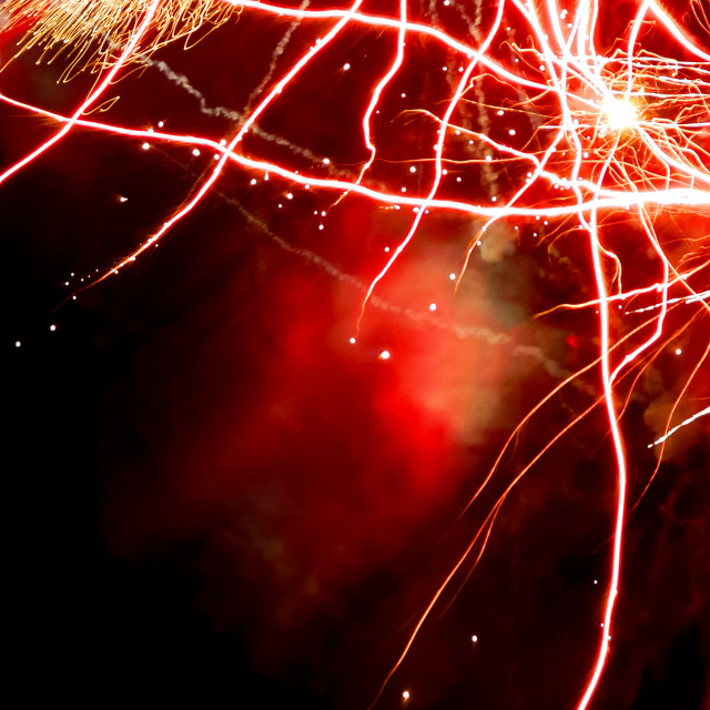 """firework abstract"" stock image"