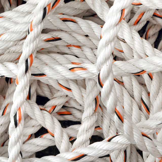 """white rope"" stock image"