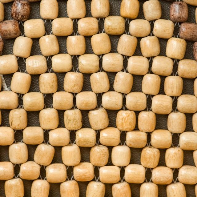 """wood beads"" stock image"