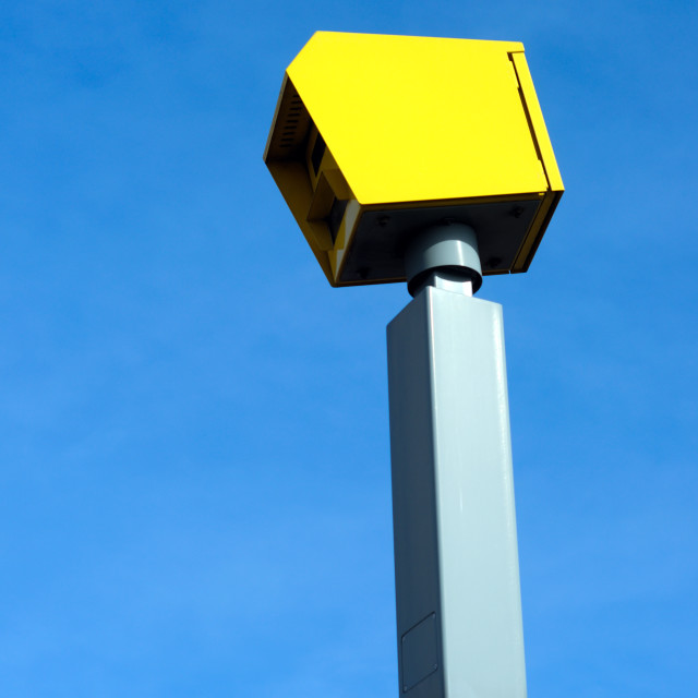 """Gatso Speed Camera ."" stock image"