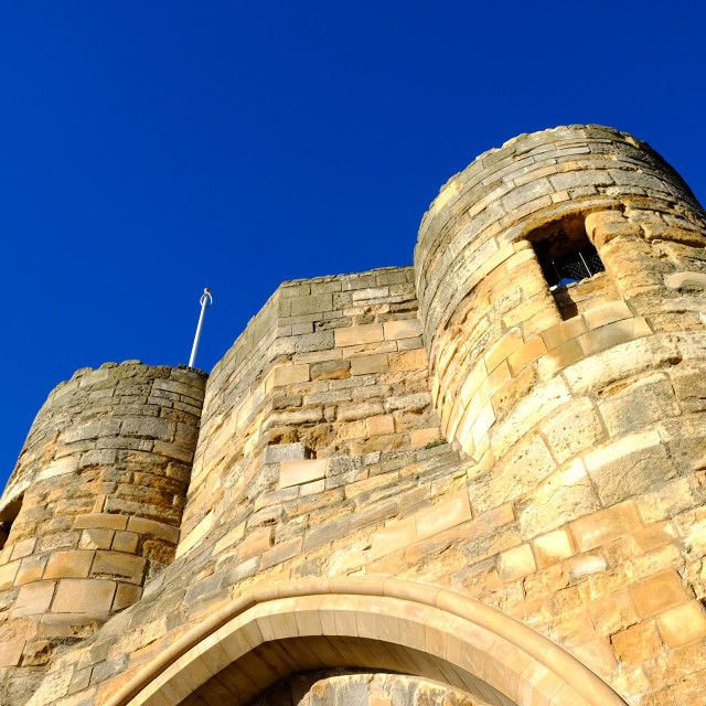 """Lincoln Castle ."" stock image"