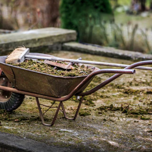 """""""Wheelbarrow"""" stock image"""