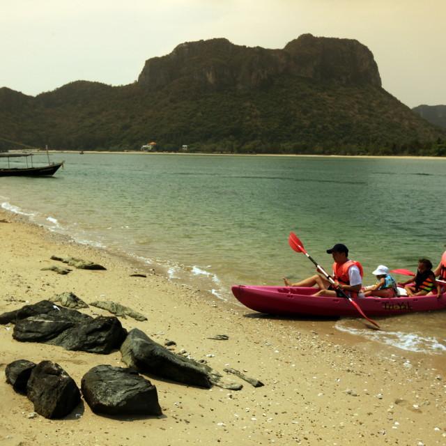 """""""ASIA THAILAND HUA HIN KHAO SAM ROI YOT"""" stock image"""