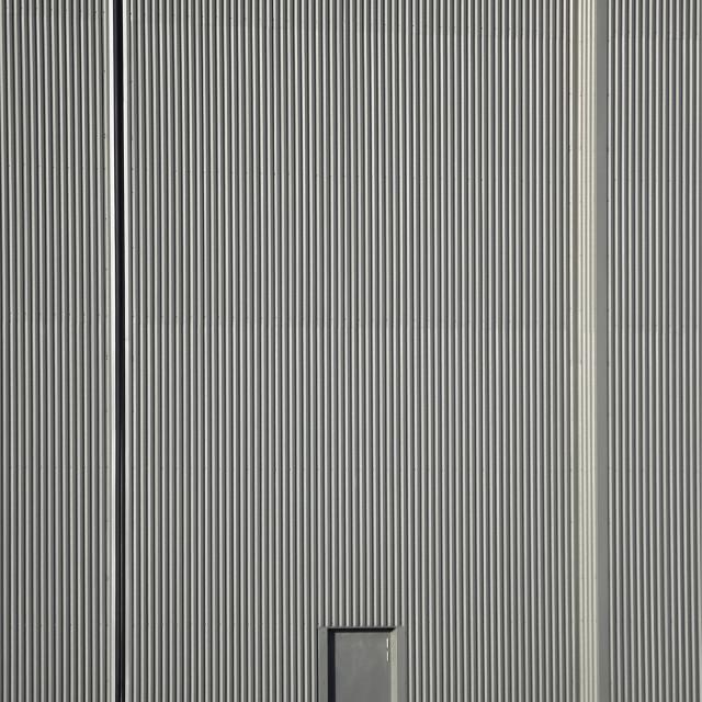 """""""hanger door"""" stock image"""