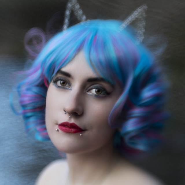 """My Fairytale Princess"" stock image"