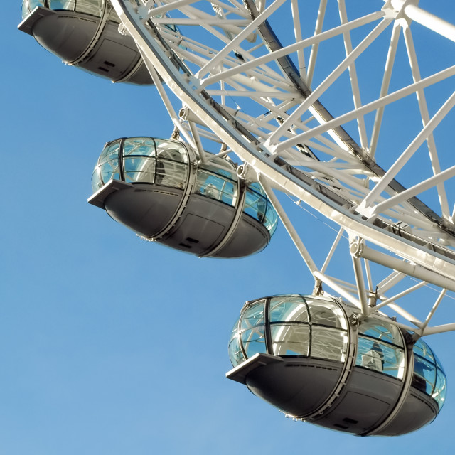 """london eye capsules"" stock image"