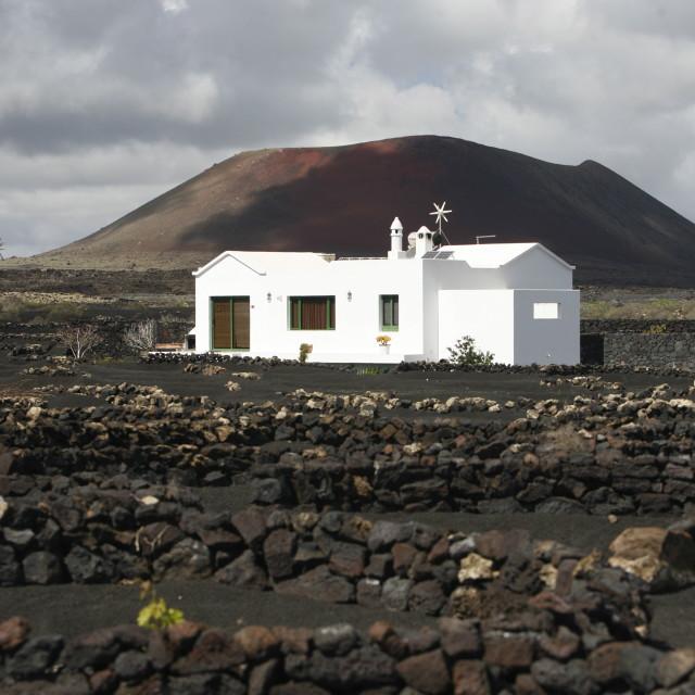 """EUROPE CANARY ISLANDS LANZAROTE"" stock image"