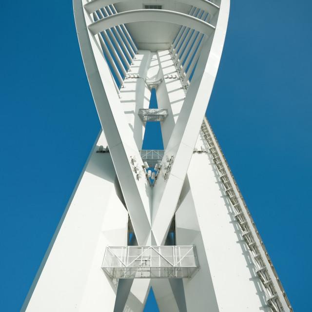 """spinnaker tower"" stock image"