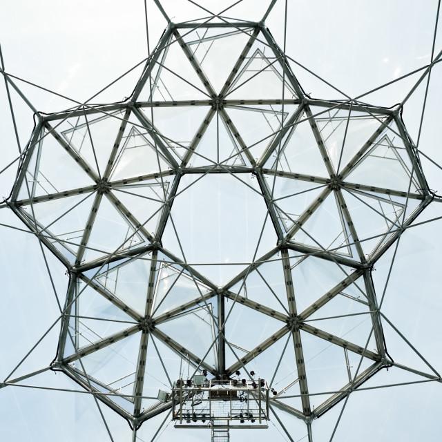 """""""bio-dome architecture"""" stock image"""