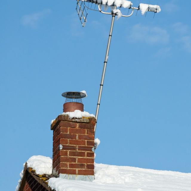 """snow signal"" stock image"