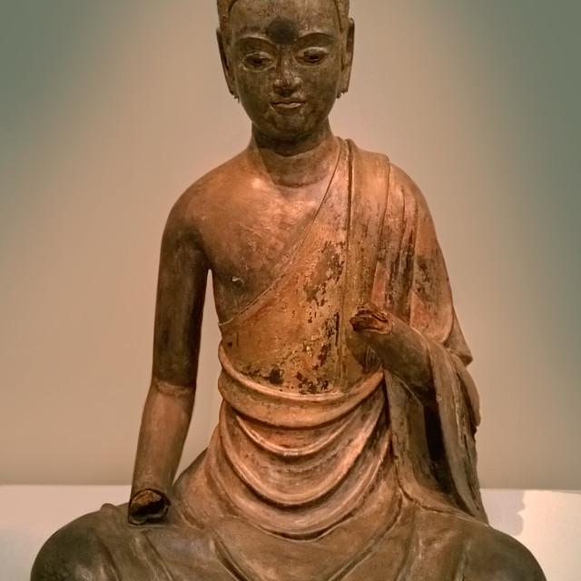 """""""Historical Buddha"""" stock image"""