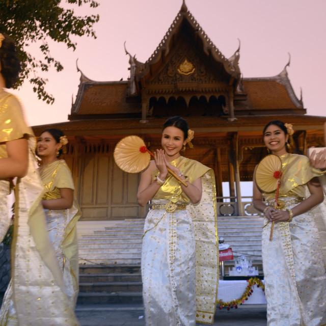 """ASIA THAILAND BANGKOK THAI DANCE"" stock image"