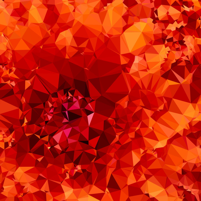 """Low poly red background"" stock image"