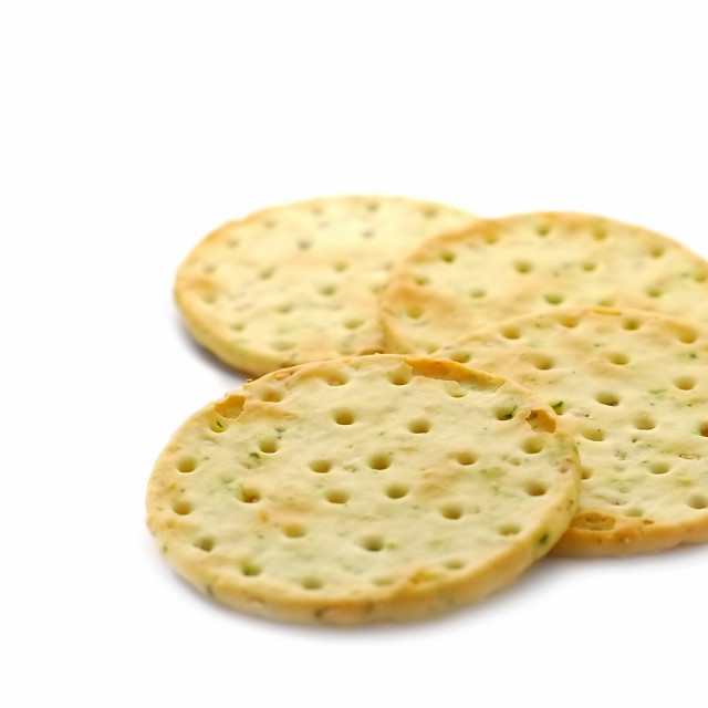 """herb crackers"" stock image"