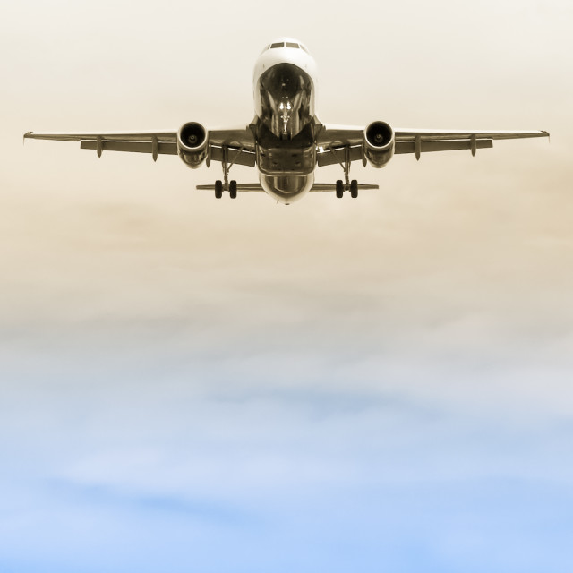 """landing approach abstract"" stock image"
