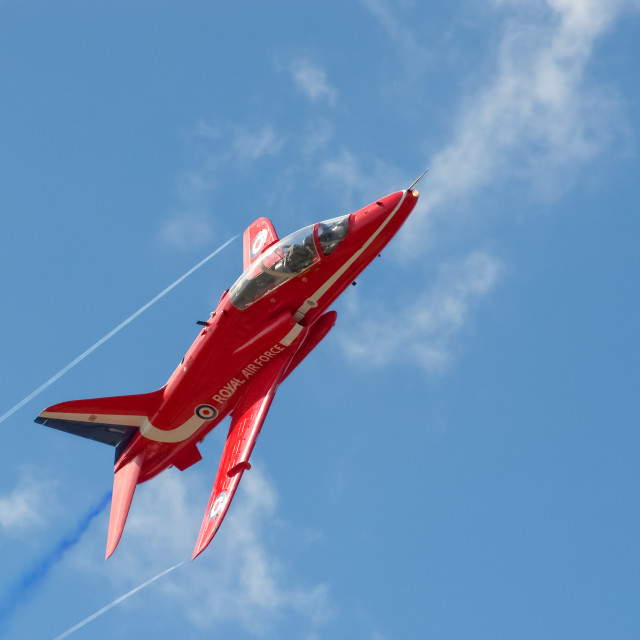 """red arrow jet"" stock image"