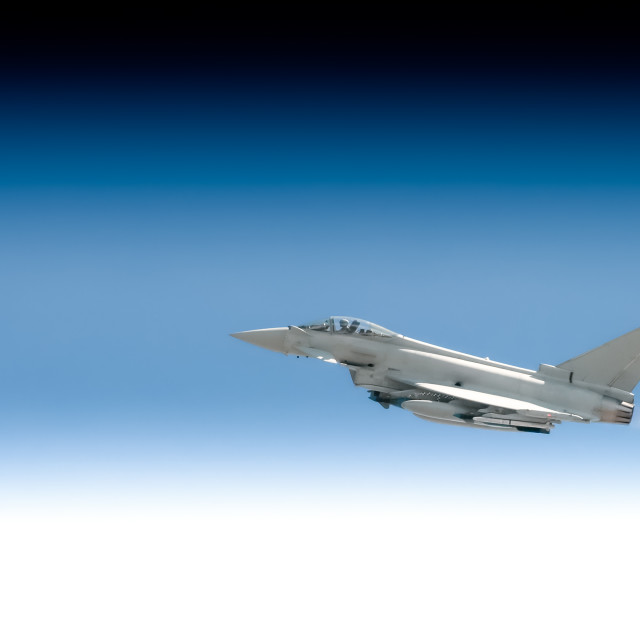 """""""going supersonic"""" stock image"""