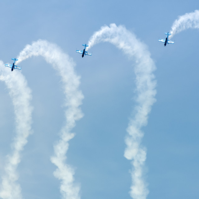 """blades aerobatic display team"" stock image"
