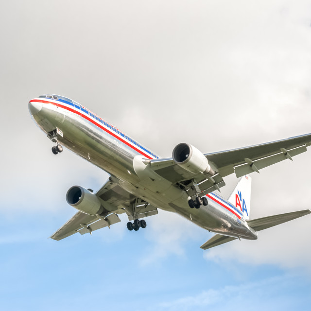 """""""American Airlines"""" stock image"""