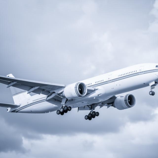 """passenger aircraft"" stock image"