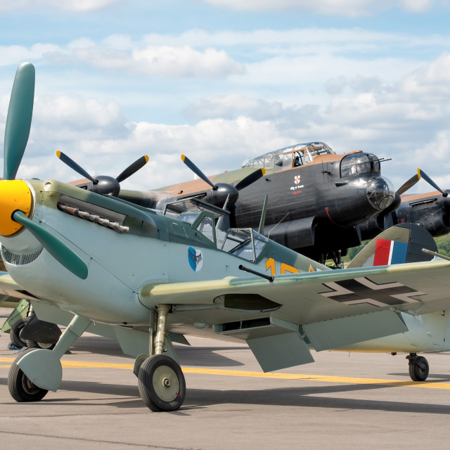 """WW2 aircraft"" stock image"
