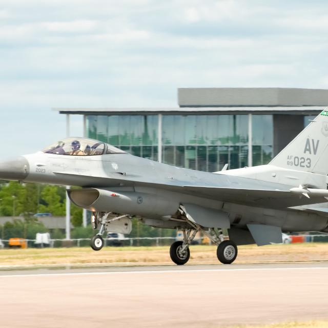 """F-16"" stock image"