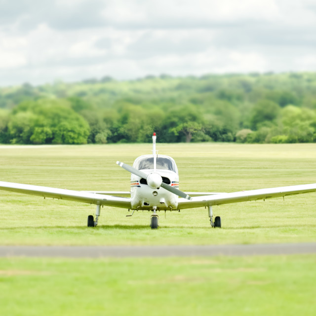 """light aircraft"" stock image"