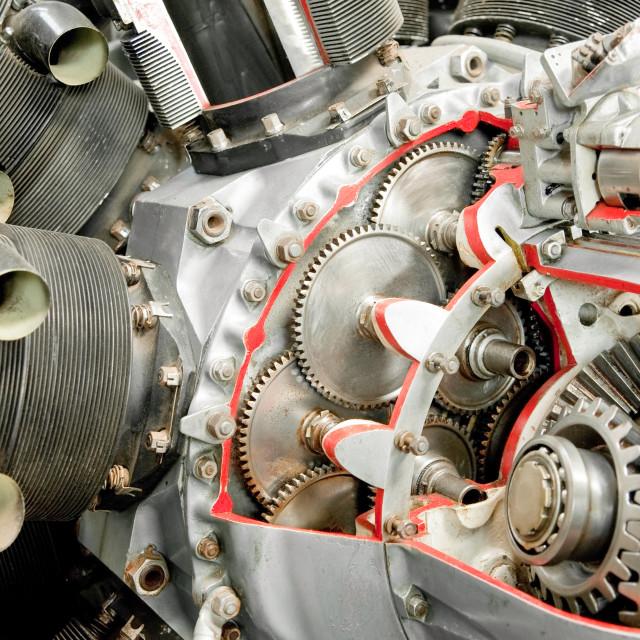 """propeller engine"" stock image"