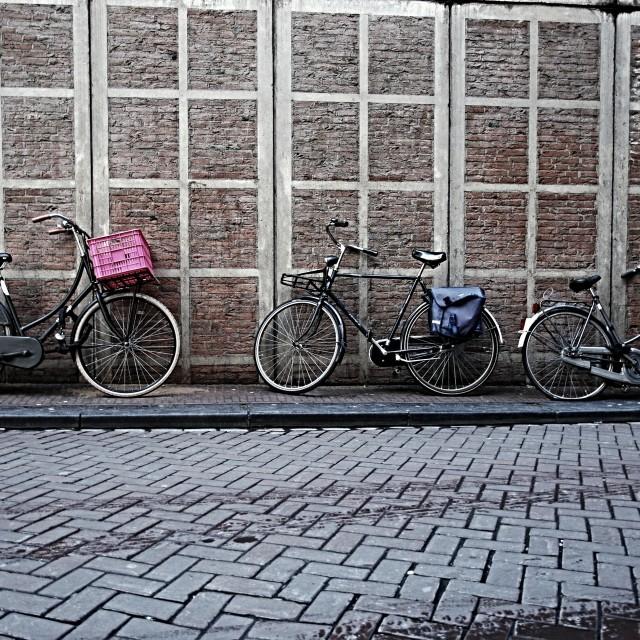 """""""3 Bikes"""" stock image"""