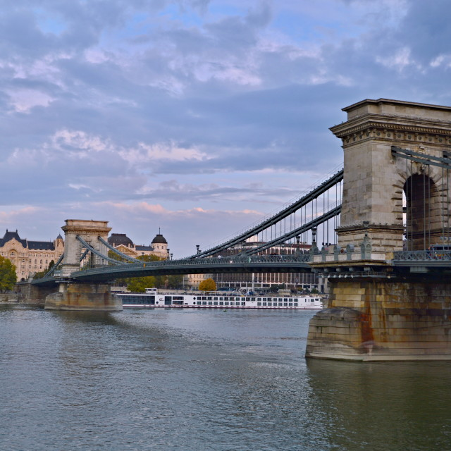 """Chain Bridge"" stock image"