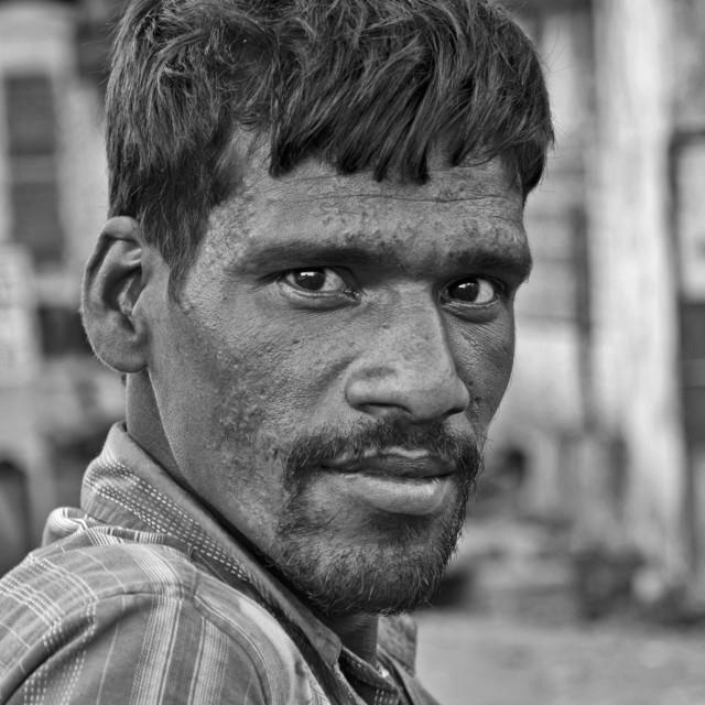 """CHENNAI MAN"" stock image"