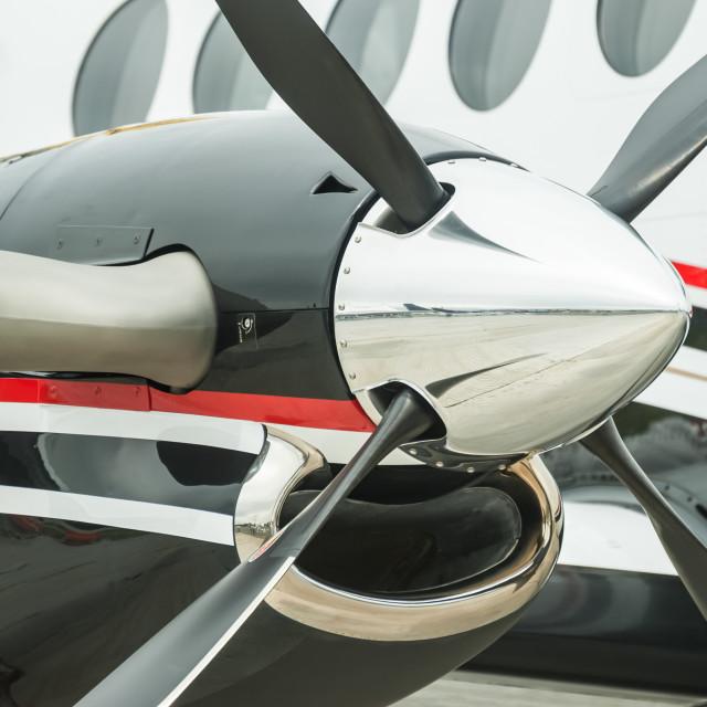 """propeller blades"" stock image"