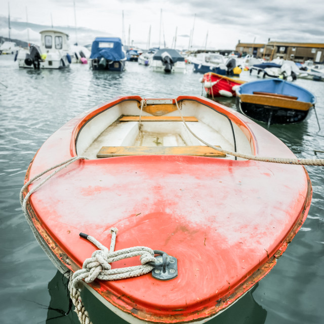 """small boat abstract"" stock image"