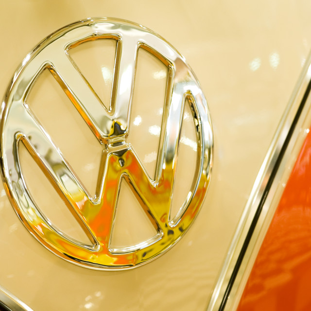 """VW badge"" stock image"