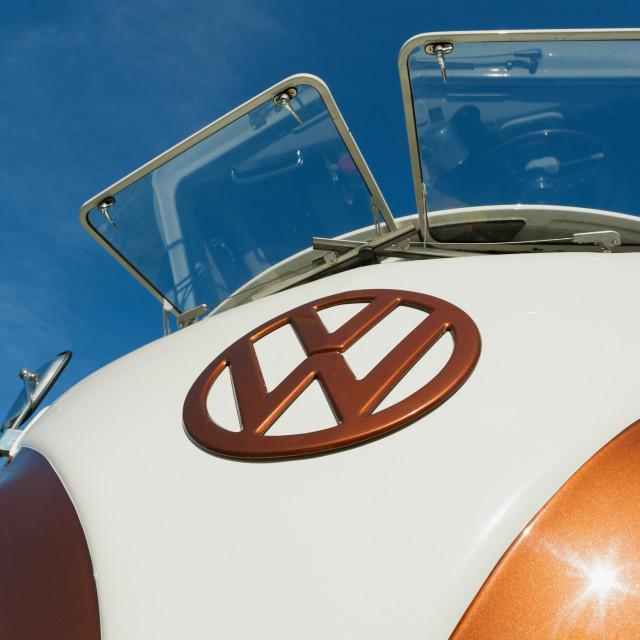 """""""VW Camper"""" stock image"""