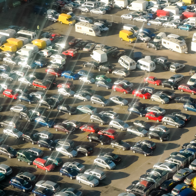 """parking lot"" stock image"