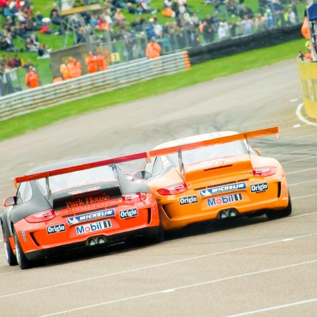 """""""Porsche contact"""" stock image"""