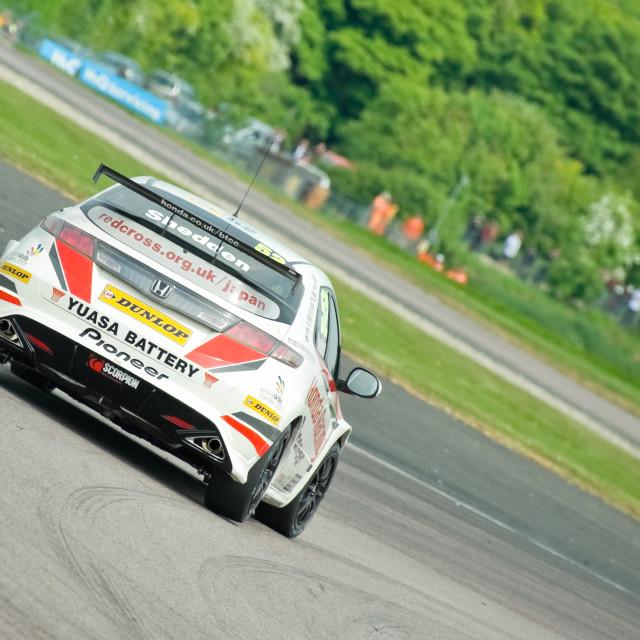 """Honda Racing"" stock image"