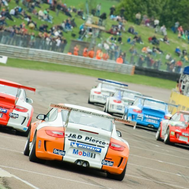 """Porsche Carrera Cup"" stock image"