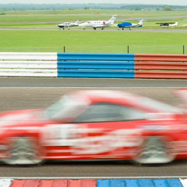 """""""Porsche blur"""" stock image"""