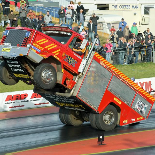 """truck stunt"" stock image"